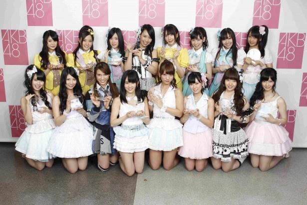 第4回の「アンダーガールズ」メンバー(写真は「第4回AKB48選抜総選挙」のもの)