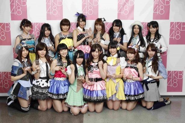 第4回の「ネクストガールズ」メンバー(写真は「第4回AKB48選抜総選挙」のもの)