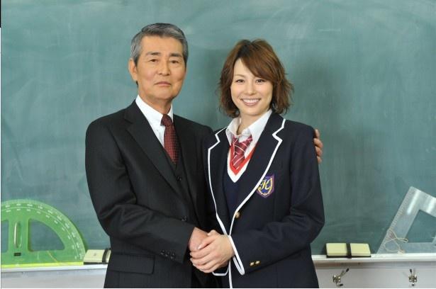 米倉涼子「やっと共演が実現しました!」