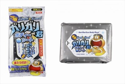 ガリガリ君の「ボディシート」(398円・30枚入り)