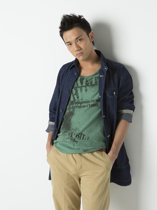第1回オーディションに合格した劇団EXILEのメンバー・小澤雄太。特技はブレイクダンス