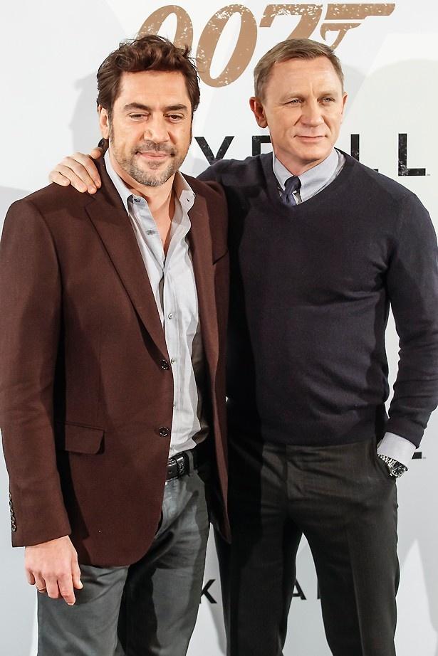 ハビエル・バルデム(左)の演技を見て、悪役を希望する俳優が増えている