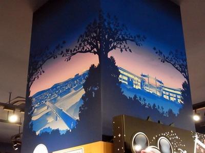 鴨居橋とららぽーと横浜も描かれている
