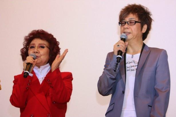 野沢雅子と山寺宏一は、何度も共演している売れっ子どうし