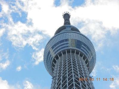 【写真を見る】展望台の高さ、入場料ともにランキング中で一番高い東京スカイツリー