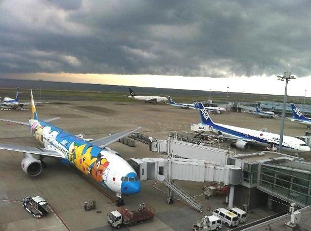 第7位の羽田空港 第二ターミナル 展望デッキ