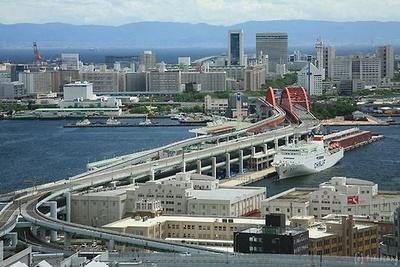 神戸市役所 展望ロビー(19位)からの眺め