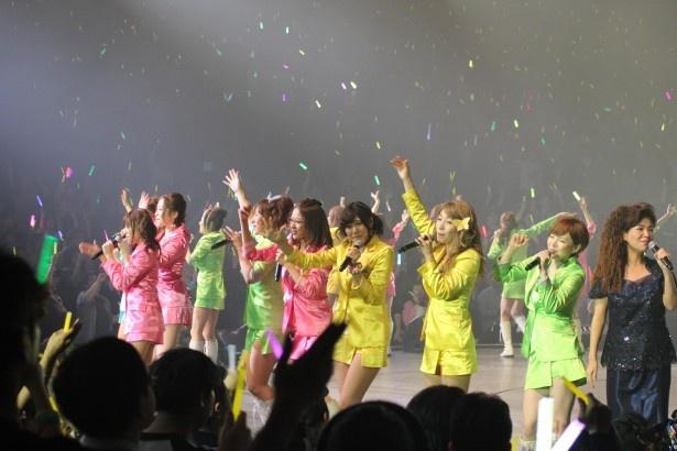 解散コンサート「女の花道~卒業式・前夜祭~」を行った恵比寿マスカッツ