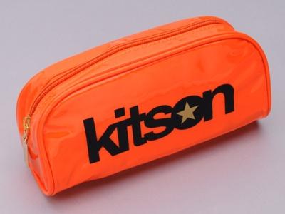 マチが広くて使いやすい「kitsonコスメバッグ」(5040円)