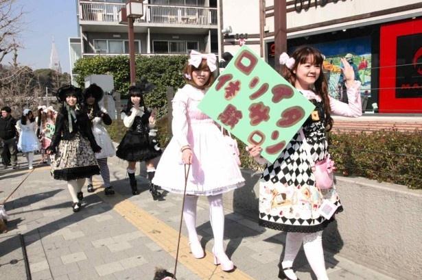 「ロリィタに憧れて東京に来ました!」という女性にも遭遇
