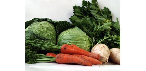 「2008-2009 農家(ノーカー)・オブザイヤー」で見事最高金賞を受賞した「あまっ娘野菜」