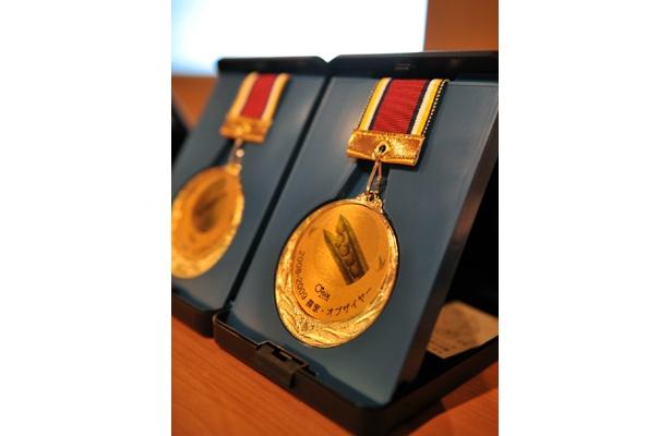最高金賞のメダルは重そう…