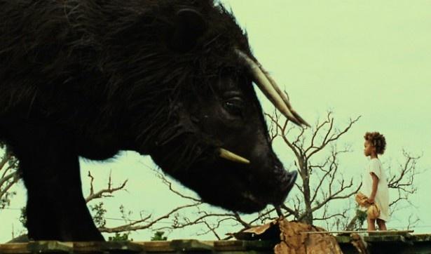 幻想的な動物オーロックスが登場するシーンはとてもファンタスティック