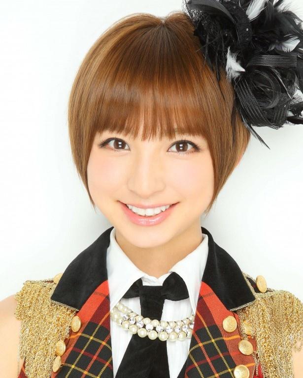 「後輩たちの壁となるよう頑張りたい」と意欲を見せたAKB48・篠田麻里子