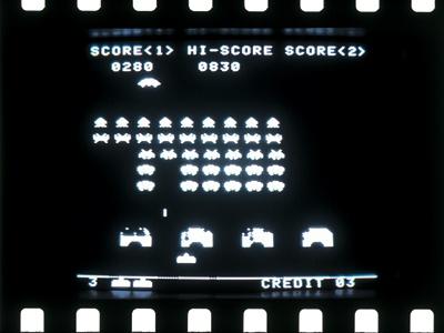 1978年大ブレイクした「スペースインベーダー」