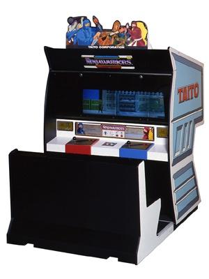 忍者型サイボーグの横スクロールアクションゲーム「ニンジャウォーリアーズ」
