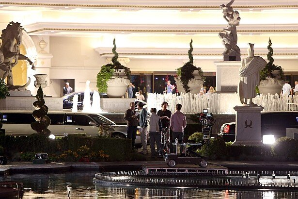 撮影の舞台となったラスベガスのシーザーズ・パレス・ホテル・カジノ