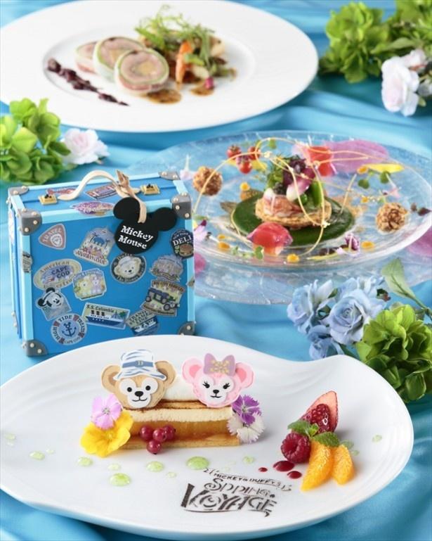【写真を見る】東京ディズニーシー・ホテルミラコスタにはダッフィーのディナーコースが!特別メニューはコチラからチェック♪