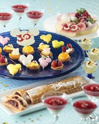 世界各国の料理を賑やかなブッフェスタイルで楽しむことができる「シャーウッドガーデン・レストラン」