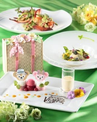 「ベッラヴィスタ・ラウンジ」の「デザートセット」(3300円)