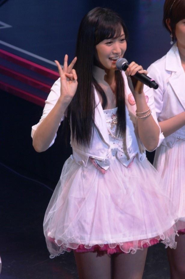 6月にアイドリング!!!からは初のソロデビューが決まった横山ルリカ