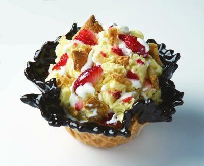 「ストロベリーミルフィーユカスター」は1番人気!ミルフィーユのような食感が◎