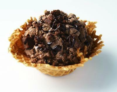 男性に支持されて人気3位。「ショコラジェンヌ」はチョコレート好きのためのアイスクリーム