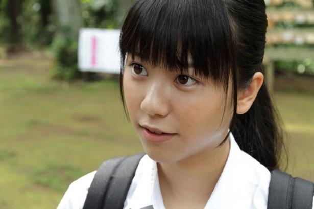 能年玲奈や日南響子とはタイプは異なるが、ブレイクの予感を抱かせる溝口恵(『ソラから来た転校生』)