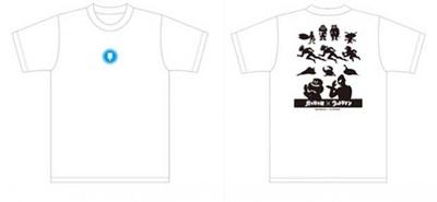 当たりが出るともらえるオリジナルの「ガリガリ君×ウルトラマンTシャツ」