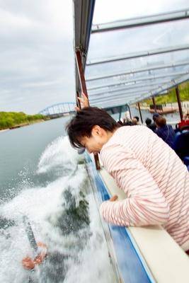 【写真を見る】水上を走行!沈まないとわかっていても思わず絶叫してしまう!?