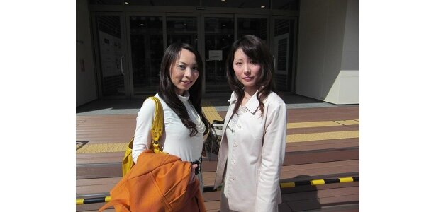 山本みきさんと清水美奈子さん。5時間ぐらいかけてたっぷり楽しんでくれました