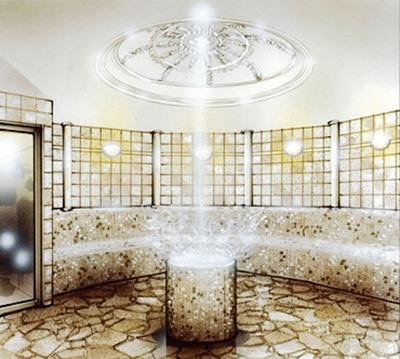 「しこつ湖鶴雅 リゾートスパ水の謌」の浴場
