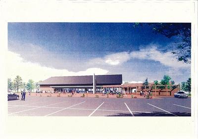 「道の駅 ウトナイ湖」は10月オープン予定