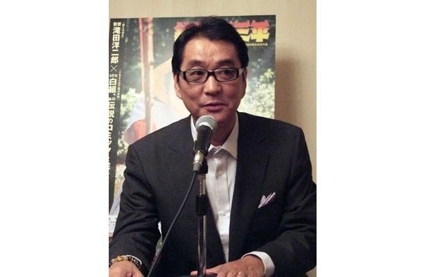 『おくりびと』で見事にオスカーを釣りあげ、一躍時の人となった滝田洋二郎監督