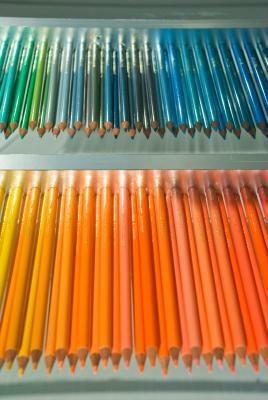 オレンジ色もさまざま!微妙なニュアンスを楽しんで