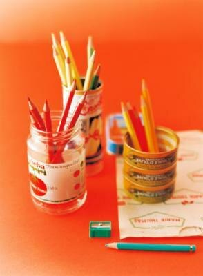 机の上に、デザイン感覚で好きな色をさしておいてもいいかも
