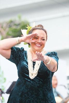 本場ハワイから来日するラニ・ガール カレイキ・アーローさん