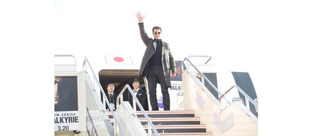 トムの情熱は日本のファンにきっと届いたはず