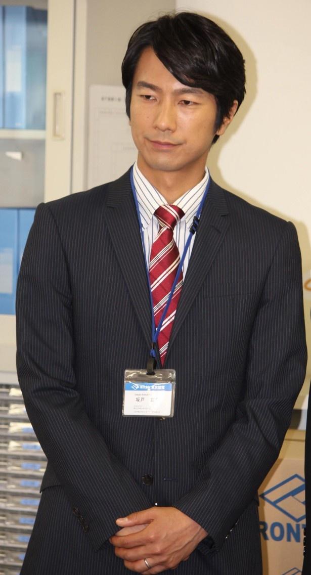 【写真】 「坂戸は選択するより、そうせざる終えない状況になってしまった人です」と役どころを語る眞島秀和