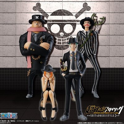 ゾロやナミのフィギュアは第2弾として発売
