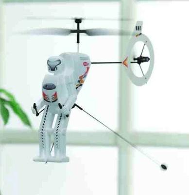 ロボホッパーが空中散歩!
