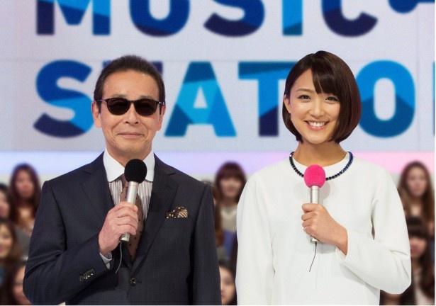 司会はもちろんタモリと竹内由恵アナウンサー