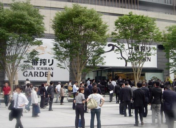 グランフロント大阪 うめきた広場に期間限定オープン!「キリン 一番搾り ガーデン 大阪」