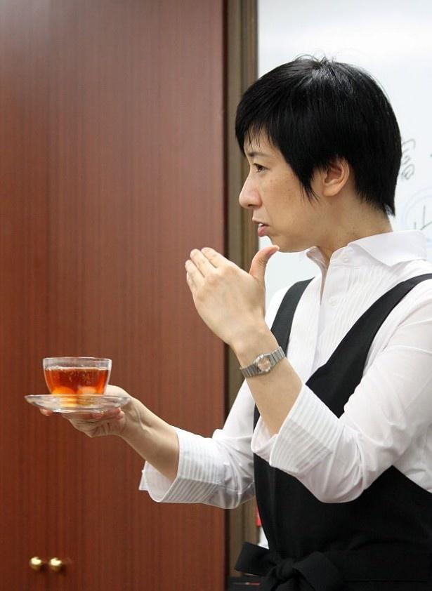 お茶と果物のソムリエ・こすだゆきこさん