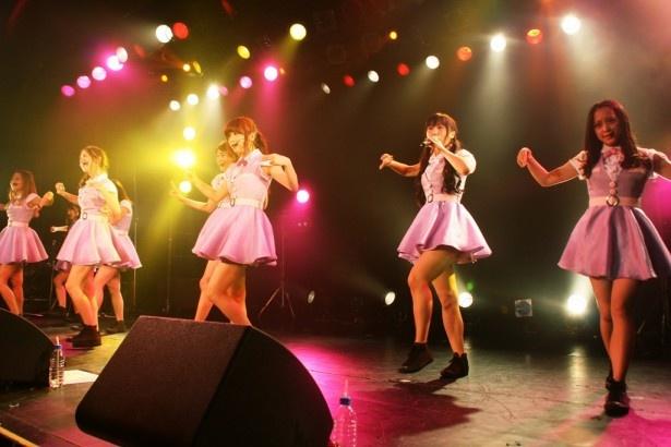 6月26日(水)発売の新曲「Truly」のカップリング「サンキュバースデー♪」を初披露したPASSPO☆