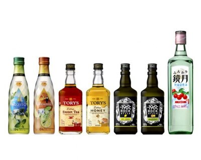 サントリー酒類のRTS7商品