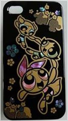 高岡漆器の技法を使用したアイフォンケース