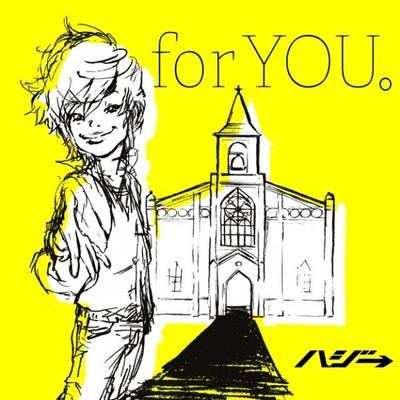 新曲「for YOU。」初回限定盤ジャケット