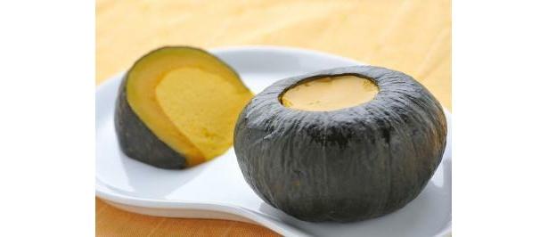 くだもの級の甘さ「坊ちゃんかぼちゃ」を使った「踊るかぼちゃプリン」は皮ごと食べられる