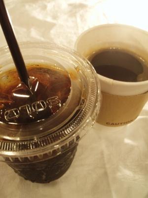 オープニング期間中は、コーヒーの無料サービスも